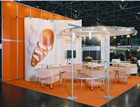 Trade Show Displays Systems Exhibits using Alusett System